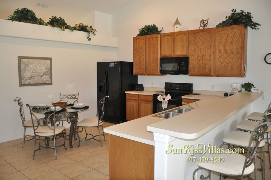 Orlando Vacation Rental Home Near Disney - Cypress Grand - Kitchen