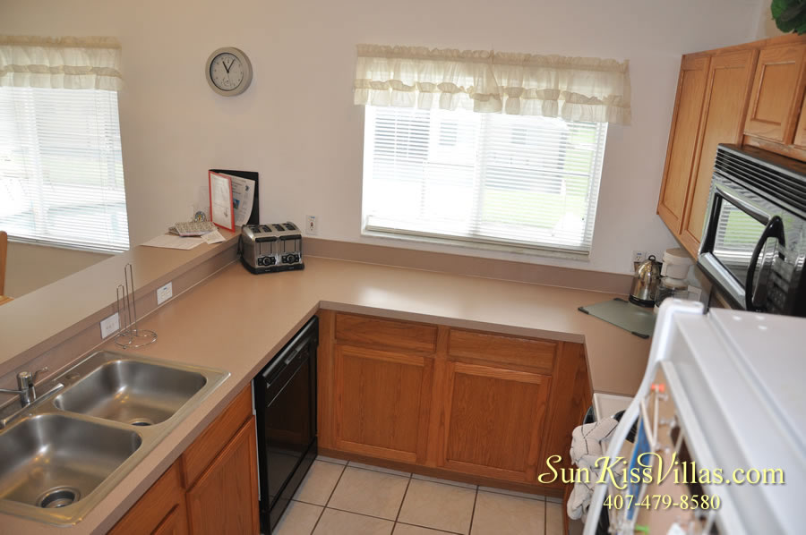 Orlando Vacation Rental - Disney Fun - Kitchen