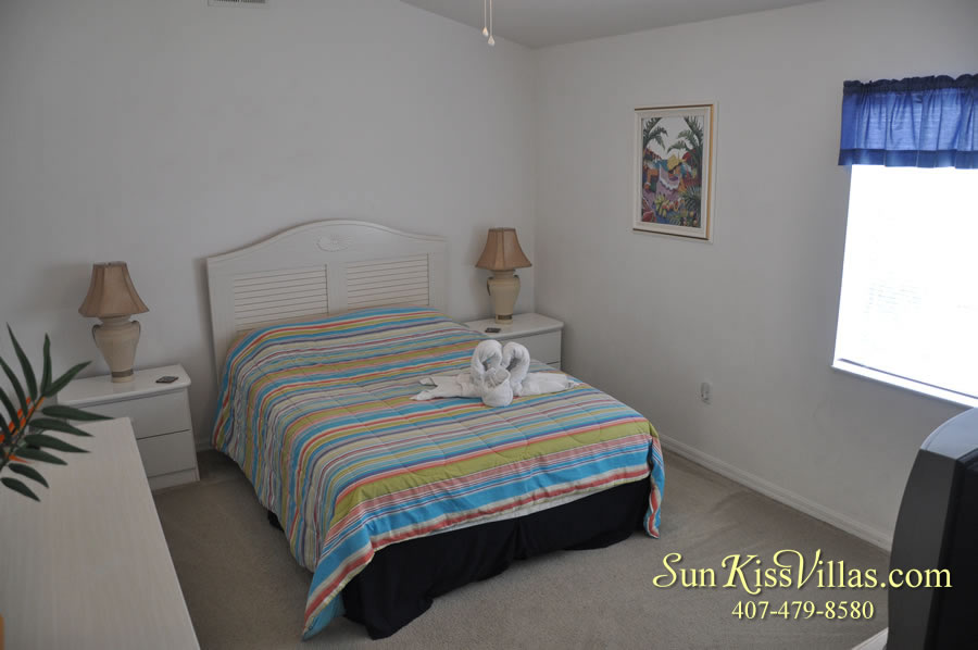 Orlando Vacation Rental - Disney Fun - Bedroom