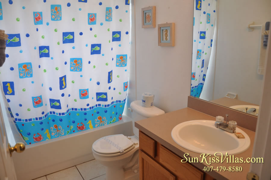 Orlando Vacation Rental - Disney Fun - Bathroom