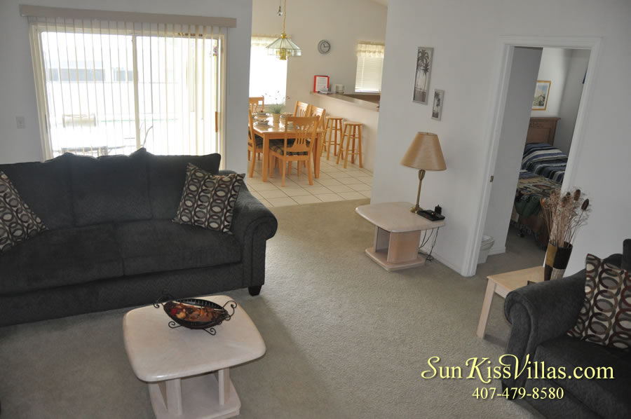Orlando Vacation Rental - Disney Fun - Family Room