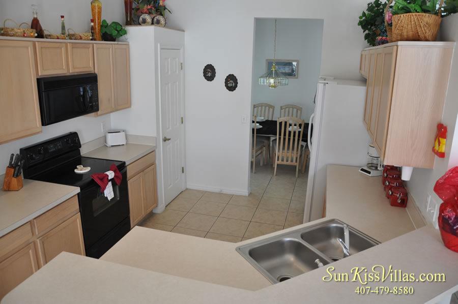 Disney Palms Vacation Home Kitchen