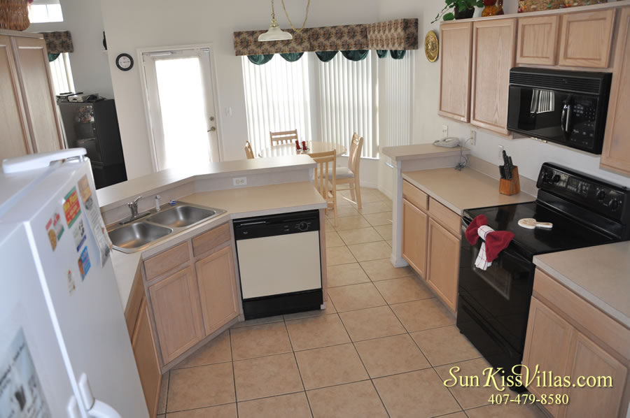 Disney Palms Vacation Home Kitchen