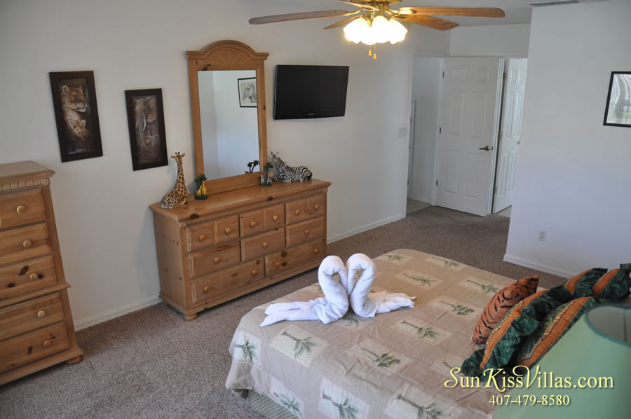 Disney Palm Vacation Home Rental - Master Bedroom