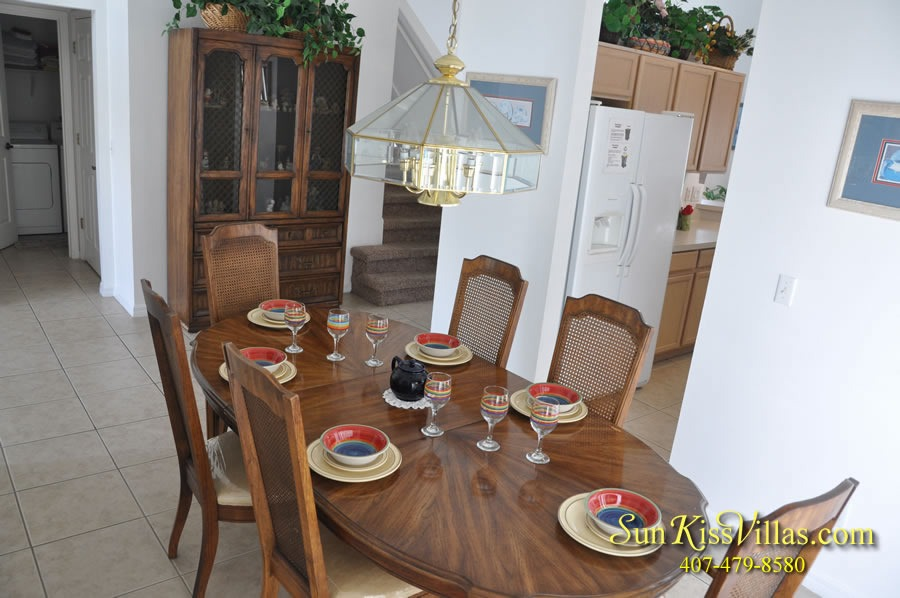 Disney Vacation Home Rental - Disney Palms - Dining
