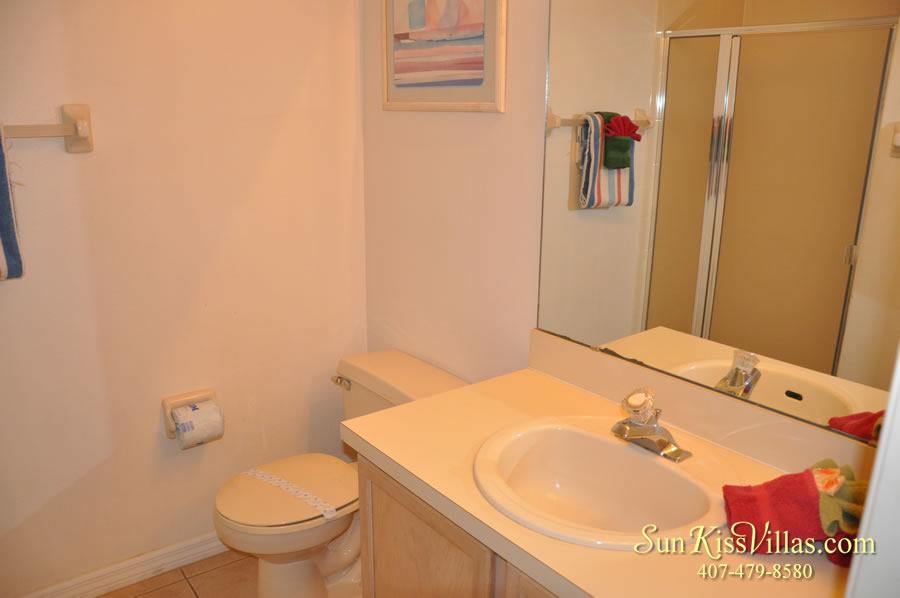 Disney Palm Vacation Home Rental - Bathroom