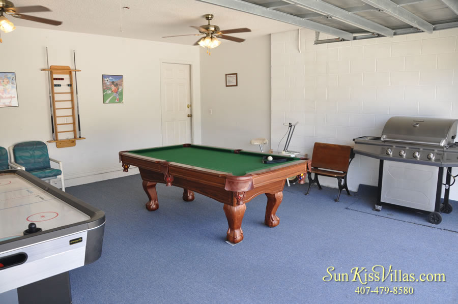 Disney Vacation Home Rental - Disney Palms - Game Room