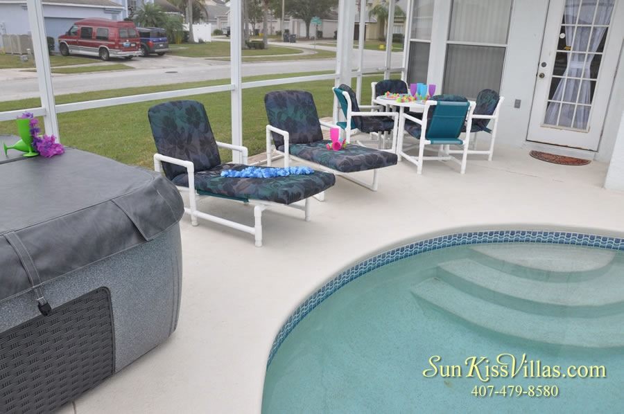 Disney Palms Vacation Home Rental - Pool and Spa