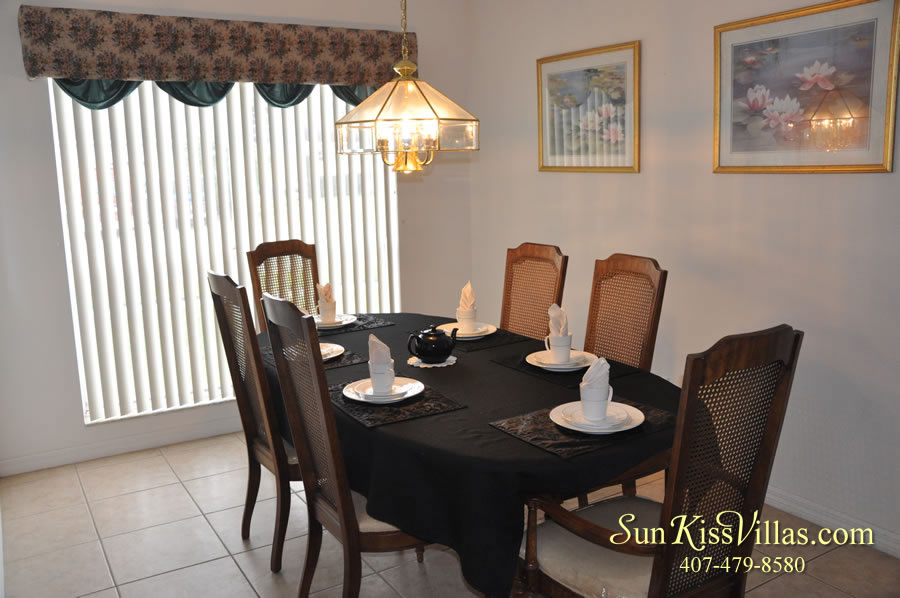 Disney Palm Vacation Home Rental - Dining Room
