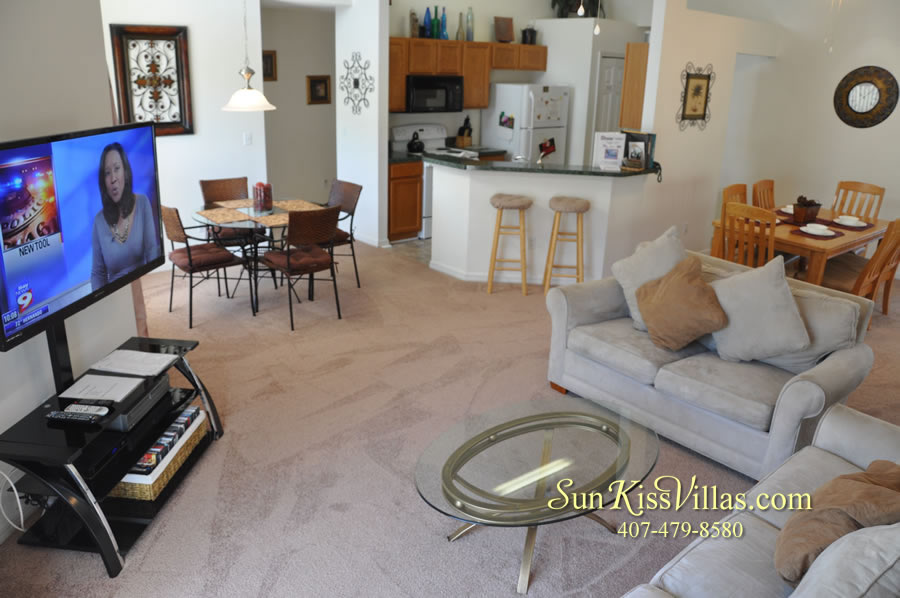 Disney Vacation Rental - Durango Palms - Family Room