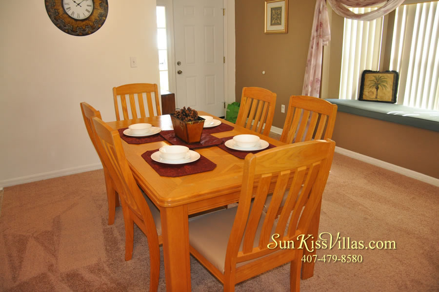 Disney Vacation Rental - Durango Palms - Dining