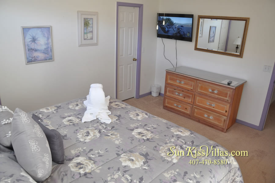 Disney Vacation Rental - Durango Palms - Master Bedroom