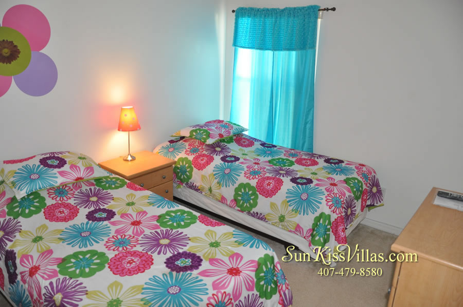 Disney Vacation Rental - Durango Palms - Twin Bedroom