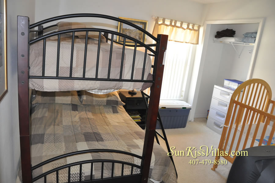 Disney Vacation Rental - Durango Palms - Bunk Bed Room