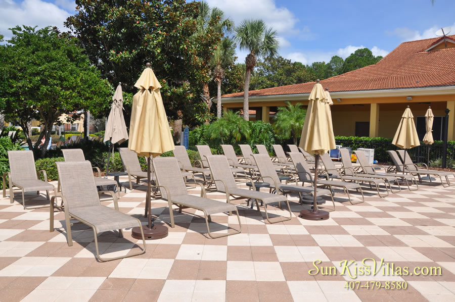 Encantada Resort Sun Lounges