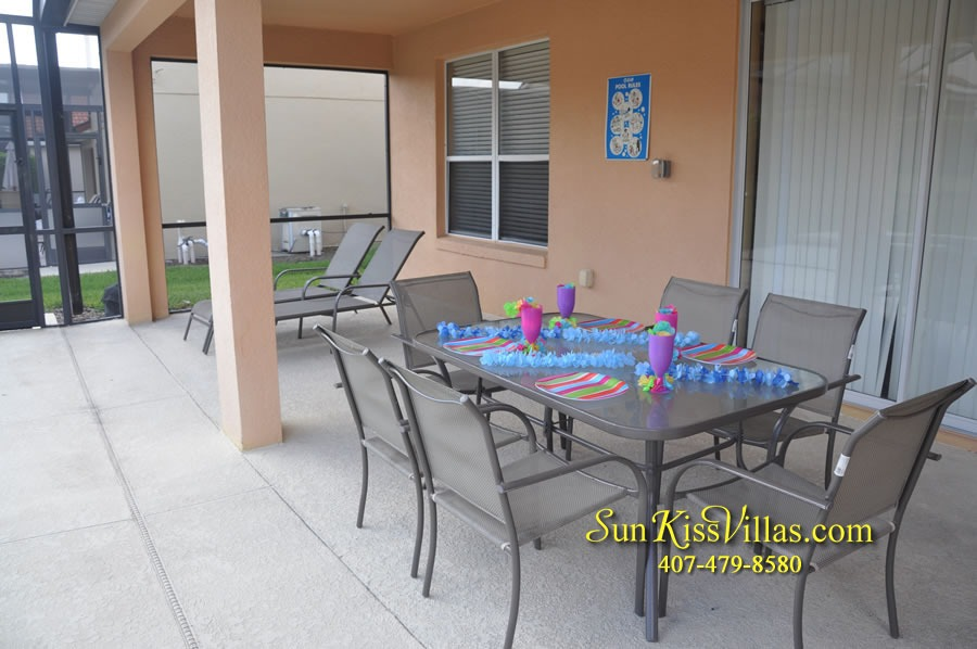Disney Orlando Vacation Rental - Endless Summer - Covered Lanai
