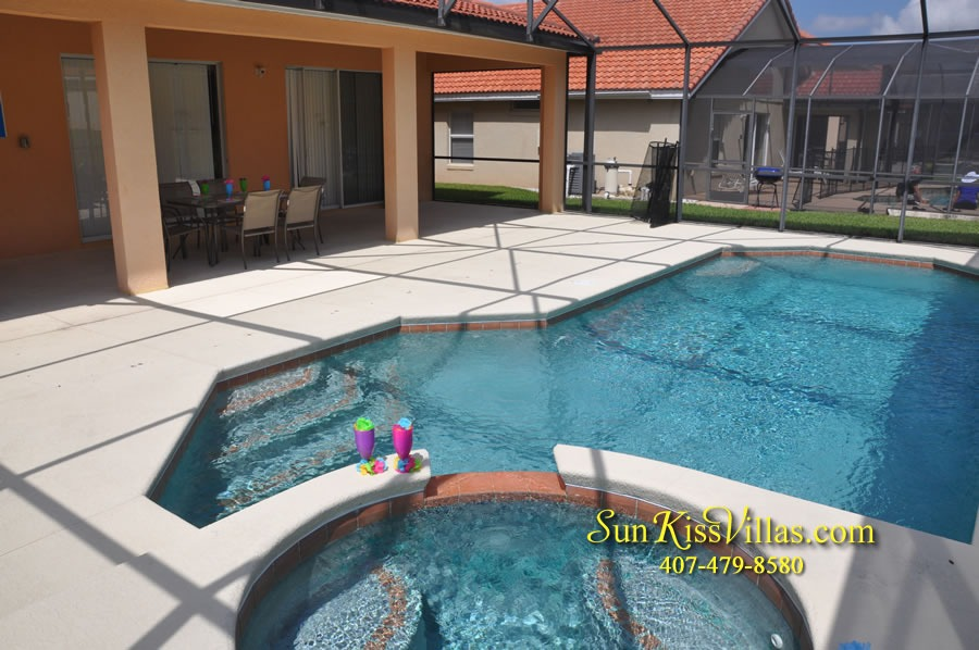 Disney Orlando Vacation Rental - Endless Summer - Pool and Spa