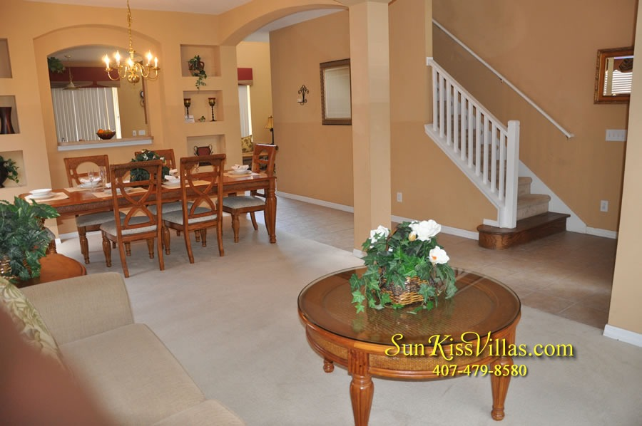 Disney Orlando Vacation Rental - Endless Summer - Living Room