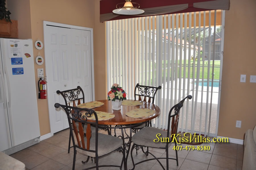 Disney Orlando Vacation Rental - Endless Summer - Breakfast
