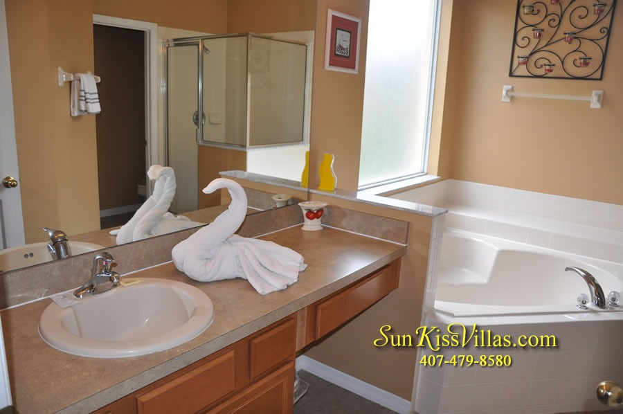Disney Orlando Vacation Rental - Endless Summer - Master Bath