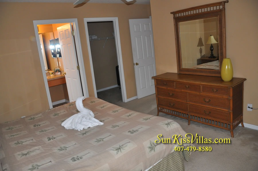 Disney Orlando Vacation Rental - Endless Summer - Bedroom