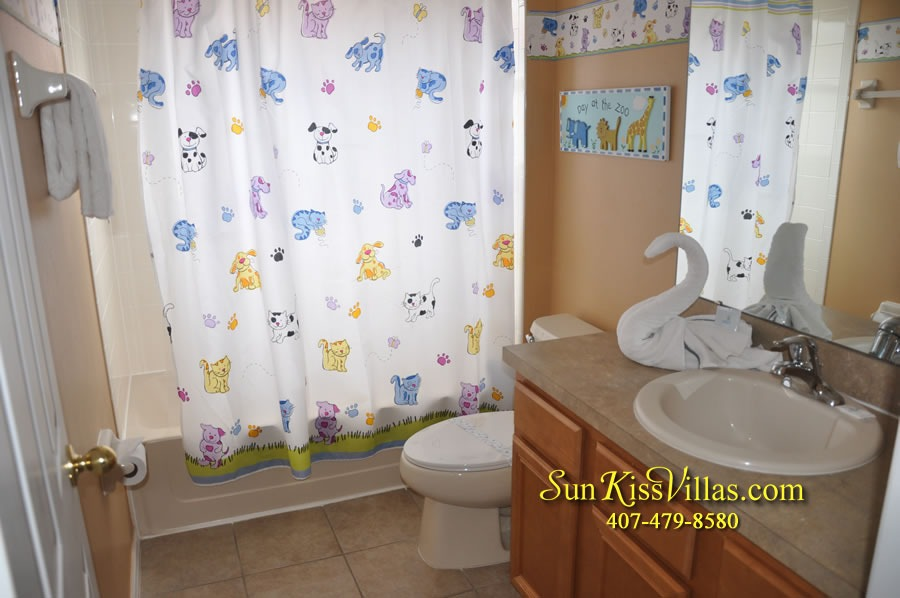 Disney Orlando Vacation Rental - Endless Summer - Bathroom