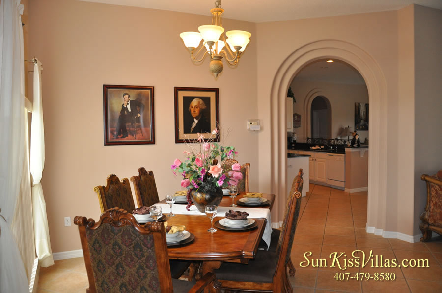 Orlando Disney Vacation Home Rental - Grand Hereon - Dining