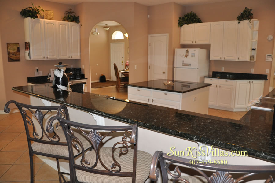 Orlando Disney Vacation Home Rental - Grand Hereon - Kitchen