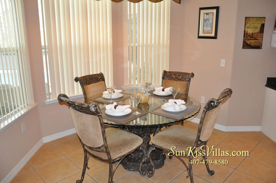 Orlando Disney Vacation Home Rental - Grand Hereon - Breakfast