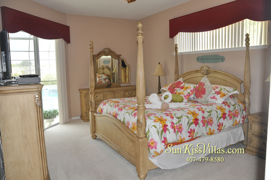 Orlando Disney Vacation Home Rental - Grand Hereon - Master Bedroom
