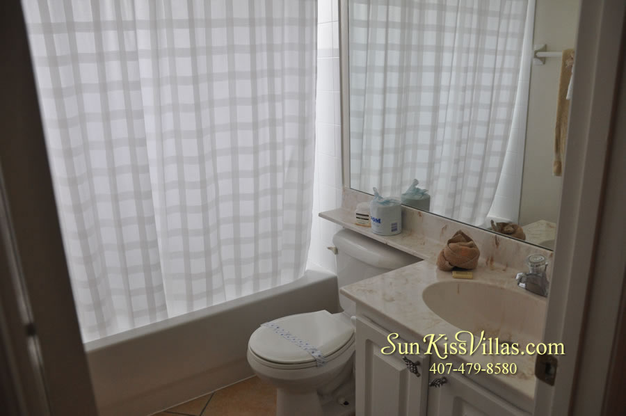 Orlando Disney Vacation Home Rental - Grand Hereon - Bathroom