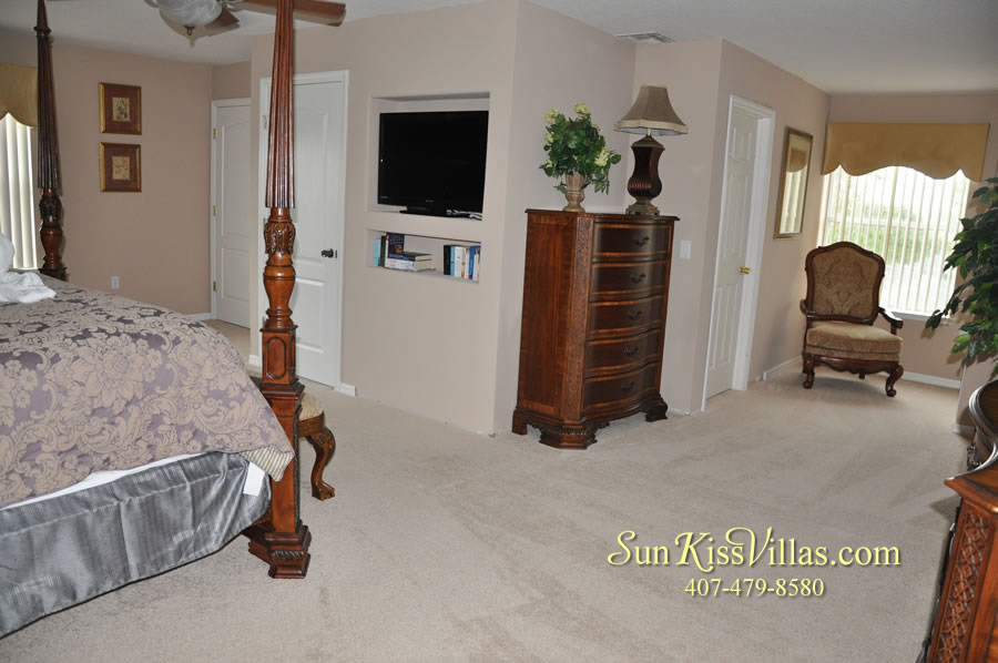 Orlando Disney Vacation Home Rental - Grand Hereon - Second Master Suite