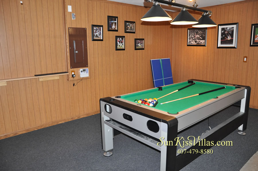 Orlando Disney Vacation Home Rental - Grand Hereon - Game Room