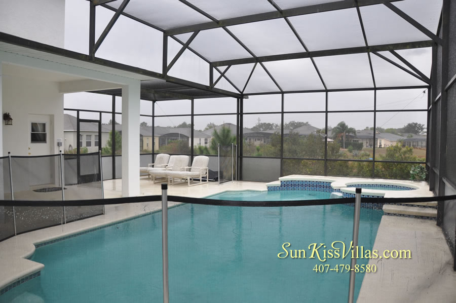 Orlando Disney Vacation Home Rental - Grand Hereon - Pool