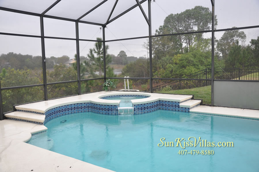 Orlando Disney Vacation Home Rental - Grand Hereon - Pool and Spa