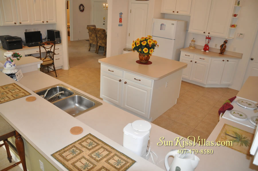 Orlando Disney Vacation Rental Home - Grand Oasis - Kitchen
