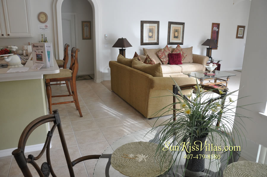 Orlando Disney Vacation Rental Home - Grand Oasis - Breakfast