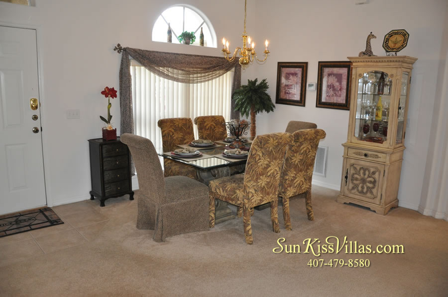 Orlando Disney Vacation Rental Home - Grand Oasis - Dining