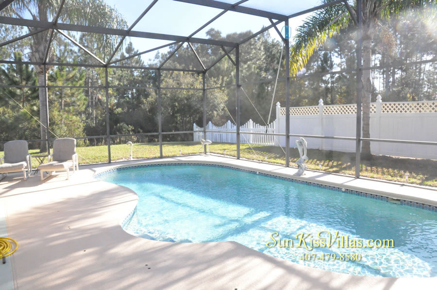 Orlando Disney Vacation Rental Home - Grand Oasis - Pool