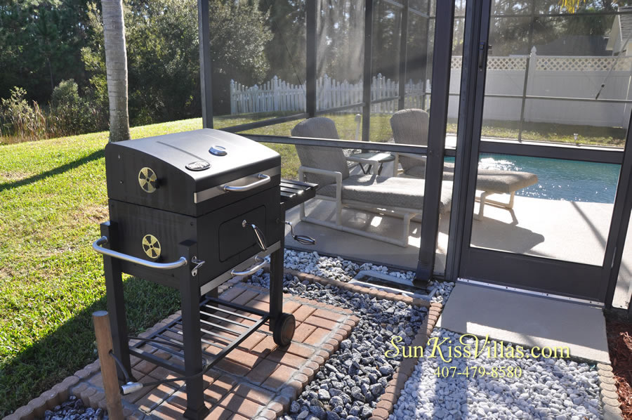 Orlando Disney Vacation Rental Home - Grand Oasis - BBQ
