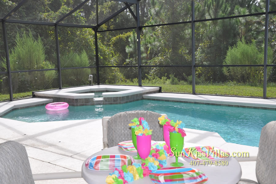 Orlando Disney Villa Rental - Grand Palms - Pool and Spa