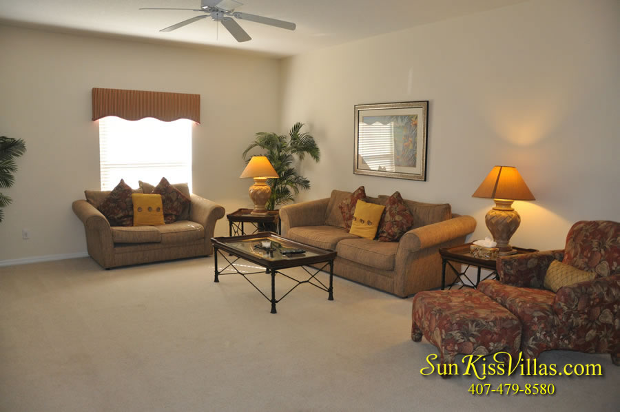 Disney Vacation Villa - Henley Park - Family Room