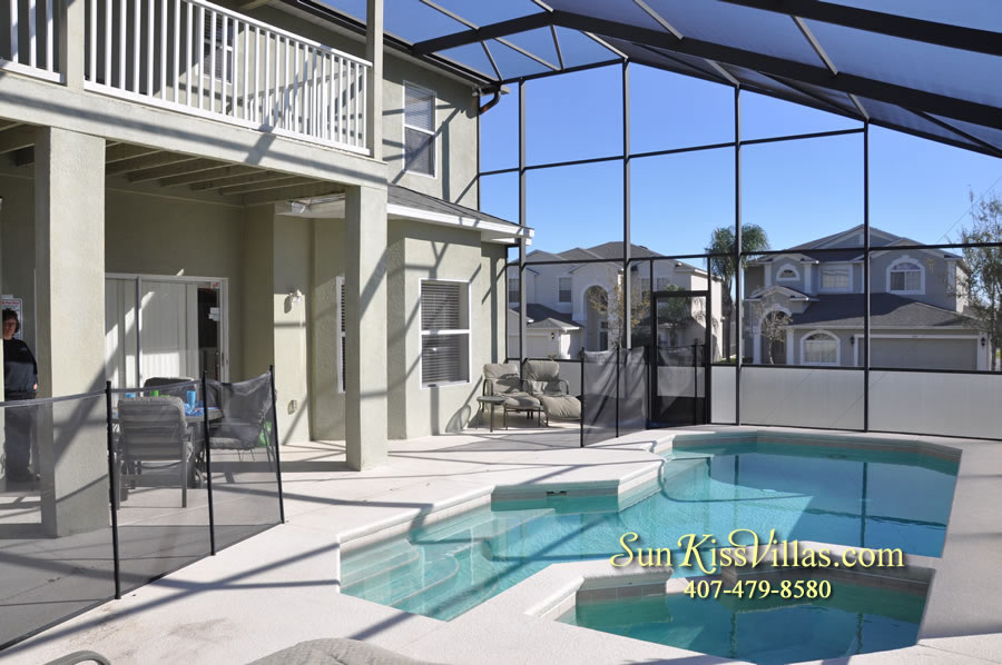 Disney Vacation Villa - Henley Park - Pool and Spa