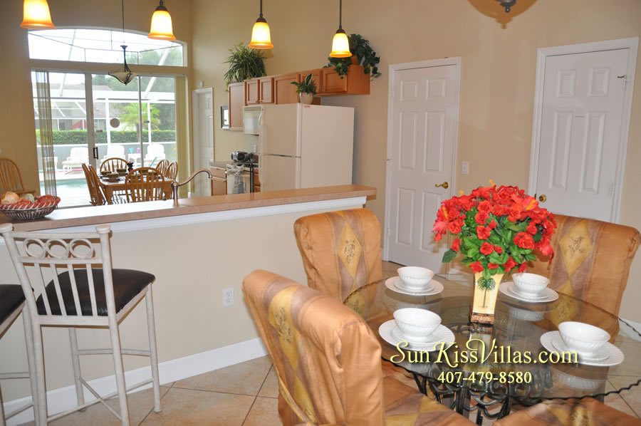 Orlando Villa Rental Near Disney - Keystone - Dining
