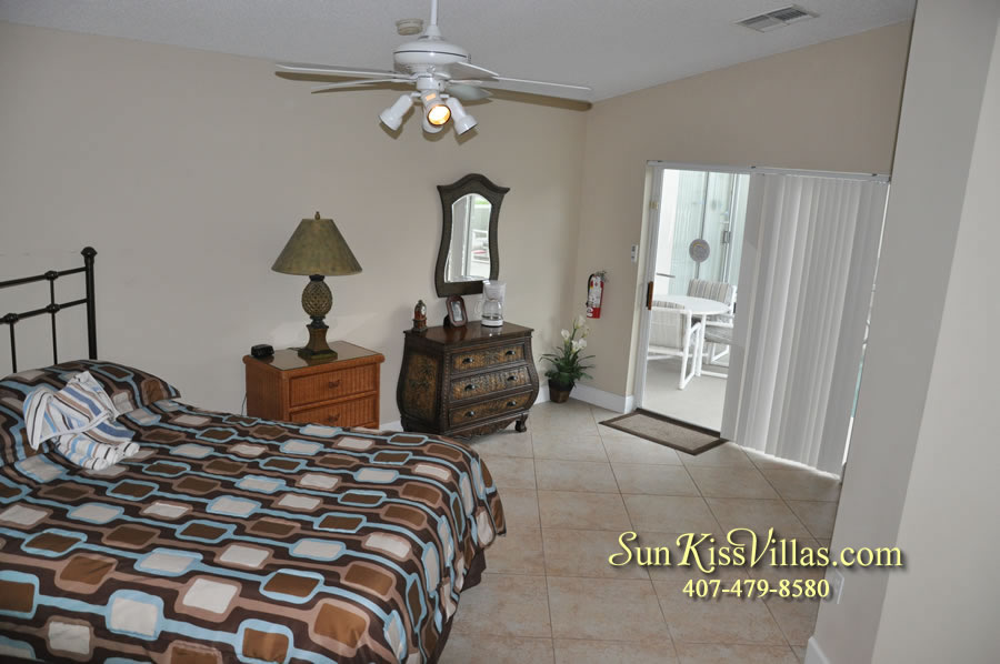 Orlando Villa Rental Near Disney - Keystone - Bedroom