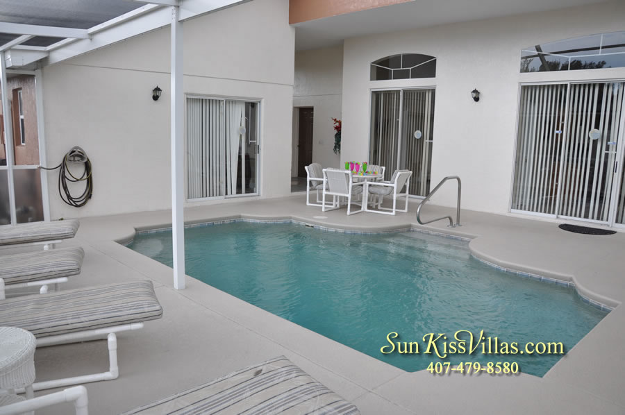Orlando Villa Rental Near Disney - Keystone - Pool