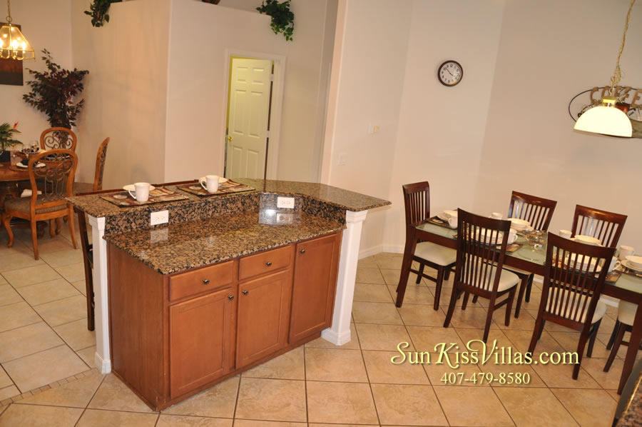 Disney Solana Vacation Rental Home - Mermaid Point - Kitchen and Breakfast
