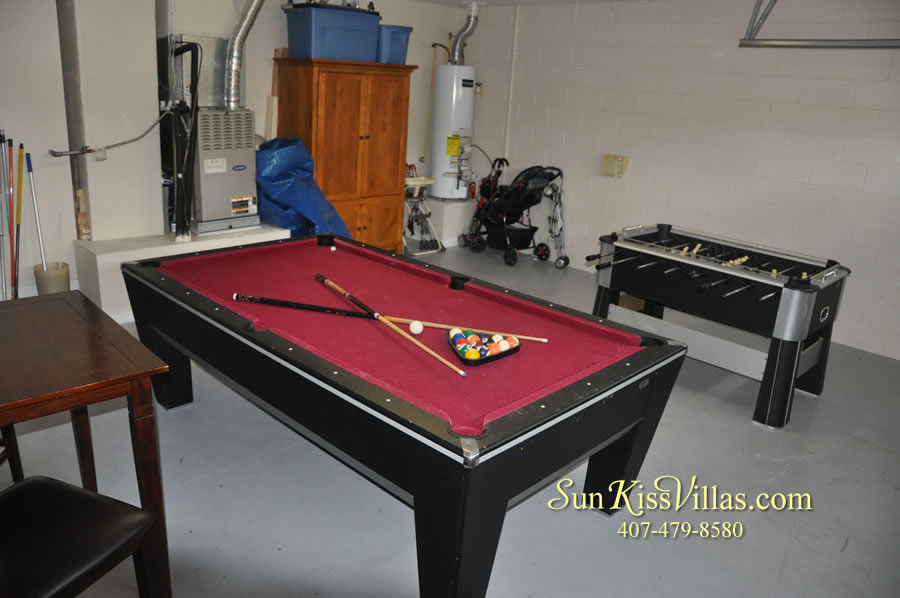Disney Solana Vacation Rental Home - Mermaid Point - Game Room