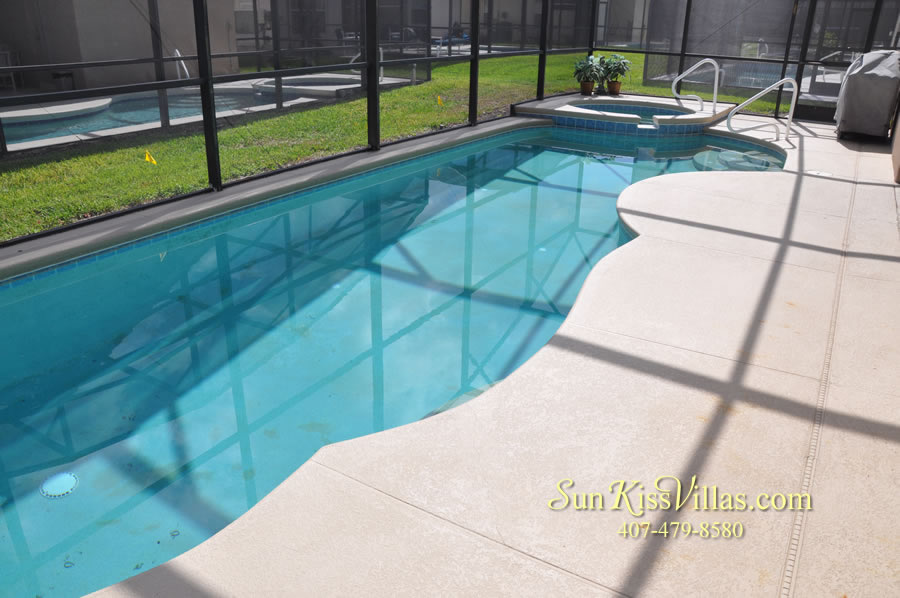 Disney Solana Vacation Rental Home - Mermaid Point - Pool and Spa