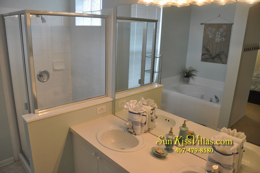 Disney Vacation Rental Home - Mickey's Cottage - Master Bath